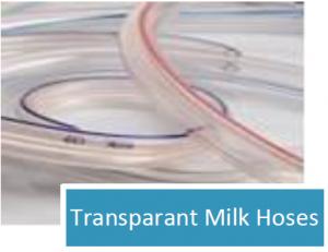 Transparant Milk Hoses